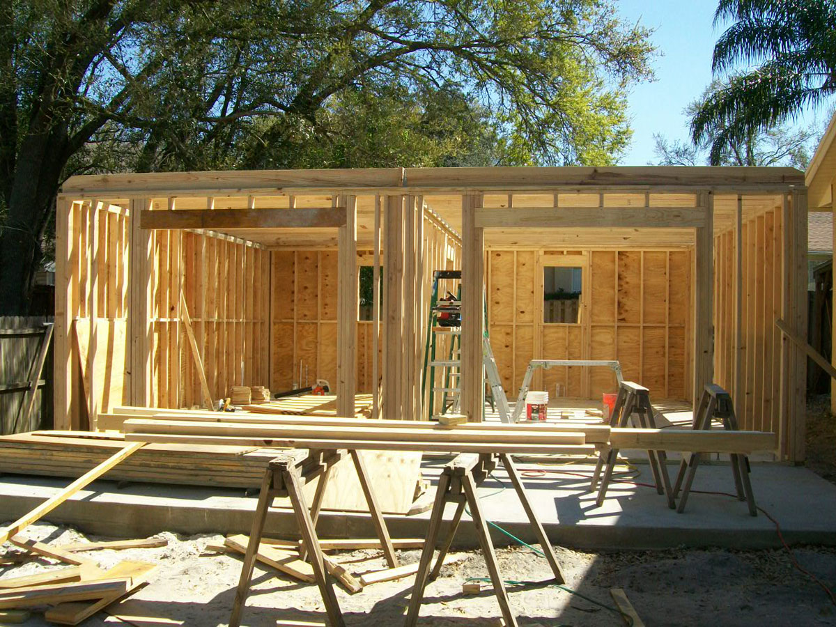 Building a garage or carport in phoenix az additions for Detached garage cost calculator