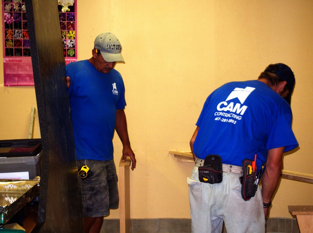 Image of remodeling services from CAM Contracting of Orlando, FL.