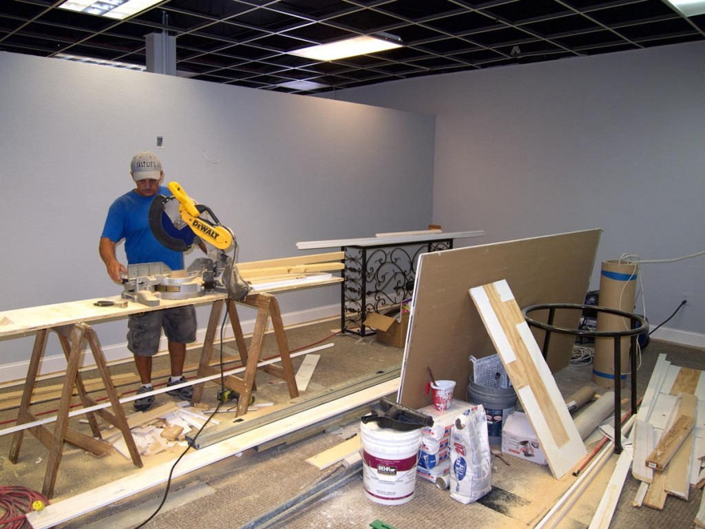Image of commercial construction and building remodeling from CAM Contracting of Orlando, FL.
