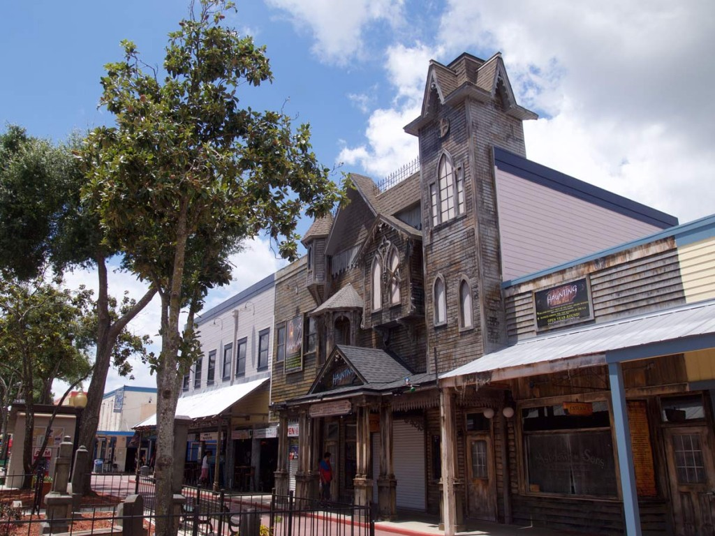 Image of Haunted House at Old Town Theme Park - Construction Management by CAM Contracting
