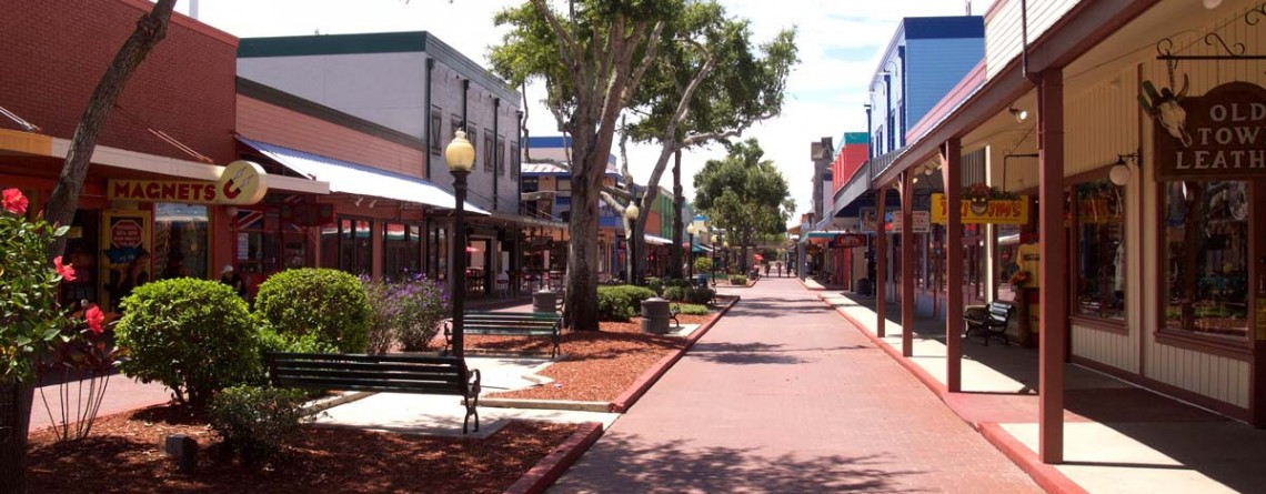 Image of Old Town Theme Park capital improvement project by CAM Contracting of Orlando, FL.