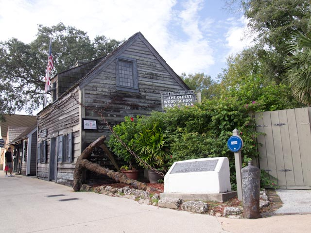 Image of historic building in St. Augustine, FL