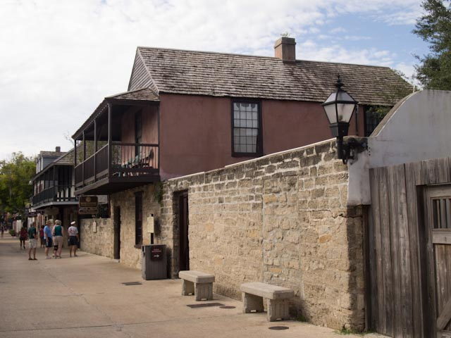 Photo of historic building in St. Augustine, FL